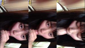sma463 スマホ撮影。家に遊びに来ていたcな妹の友達の濃厚フェラ♪etc4本
