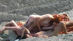 gets fucked and the beach
