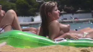 Puffy nipples on the nude beach (Puffy Beach 3-1_7-1_15-3)