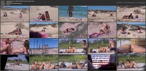 Couple having sex in public beach while everyone watches 2