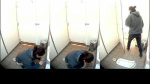 him954 秘密空間☆カワユな制服ちゃんがいっぱい♪夢の女子トイレ!etc4本