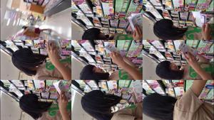 美少女J○ちゃんコレクション007 ガチ超絶美少女J○ちゃん 生パン逆さ撮り+至近距離で徹底粘着撮り