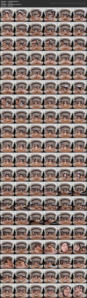 EXBVR-003 【VR】美少女メイドと夢のハーレムプレイ 新人メイド初めてのご奉仕編 深田結梨 一宮みかり 有栖るる