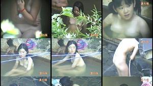 名作。女子〇学生の露天風呂&更衣室。5本