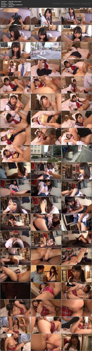 MIAD-853 Uncensored Leaked 【モザイク破壊版】子宮レンタル女子校生 僕の彼女は誰とでも中出しセックスをするッ!! なつめ愛莉