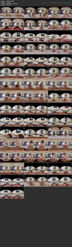 (VR) VVVR-005 【素人ハメ撮りVR】パパ活サイトで出会ったFカップ女子大生が制服姿でVRナマ中出しセックス!リモコンバイブ仕込んで羞恥お散歩中に痙攣アクメww