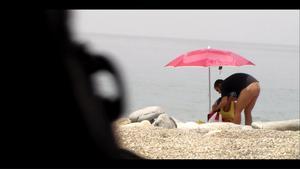 Sunny beach of Spain