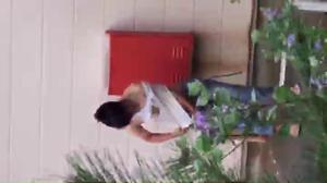 Street_15 Group C changing swimsuit in the bush, changing ace, rolling up porori ...